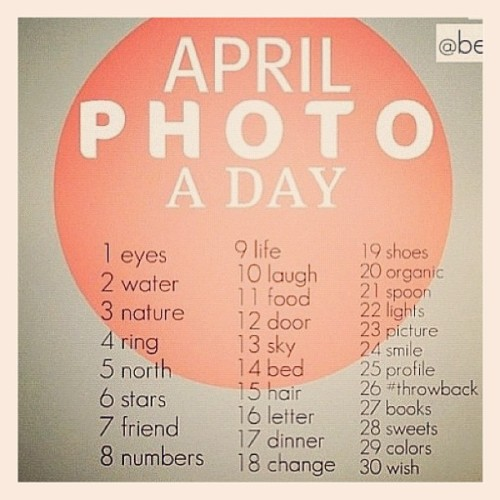 Another April Photo a Day! #aprilphotoaday #aprilphotochallenge #photoaday #photoadayapril #dailyphotochallenge #dailyphoto #photoadaychallenge (Taken with instagram)