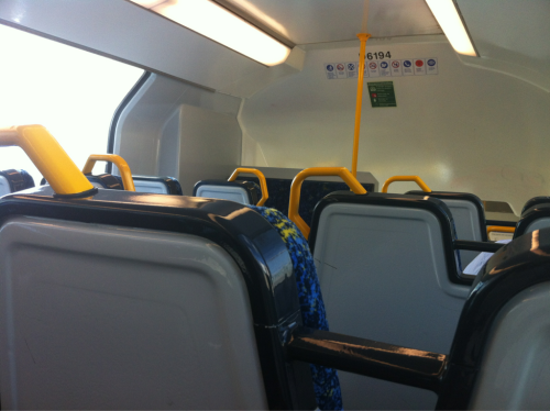 T43 from Bardwell Park to Central. Cleanliness: Refurbished and squishy!