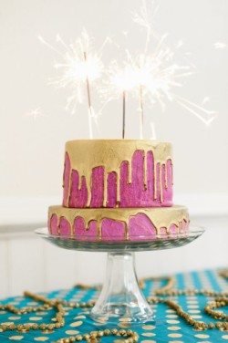 Oh Joy Glam cake ~ Celebrate Life!