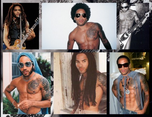 Lenny Kravitz.One of my Many Idols. <3