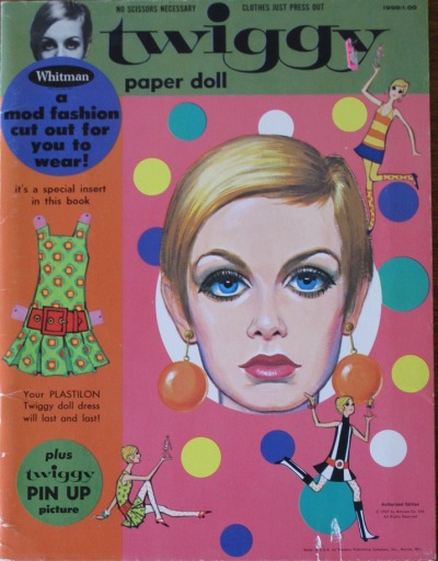 mudwerks:  Whitman Twiggy Paper Doll Set 1967 (by hmdavid)