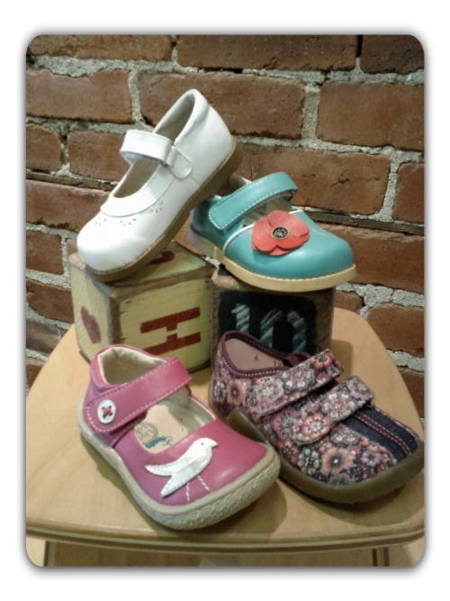 New shoes for girls are in, sporty and sweet Mary Janes to get them through Spring! New styles from See Kai Run, Kai, Morgan & Milo, Me Too Kids, and Livie & Luca…sizes Toddler 4 to 13.5…