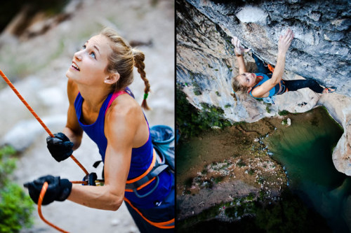what-a-climber:  Sasha DiGiulian Source: Aguita