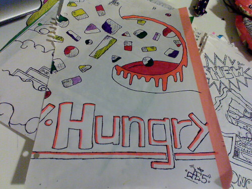 hungry child  from the wolf girl notebook its my favorite amigos\  from the wolfgirl notebook