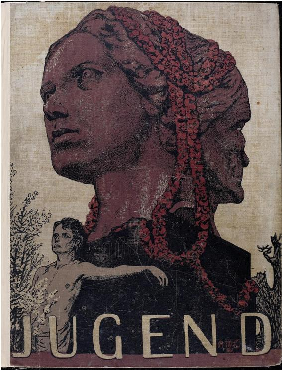 workman:  venusmilk: Jugend, 1900 Book Cover