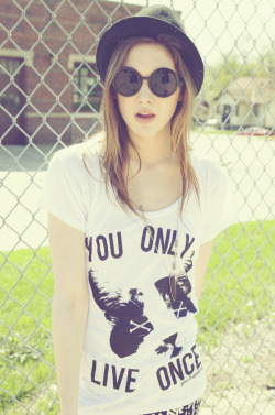 YOLO Cat shirt featuring my friend Maxx's cat, Pistol! Get yours now at www.shopjawbreaking.com, also available in a unisex t-shirt and a unisex tank top!
