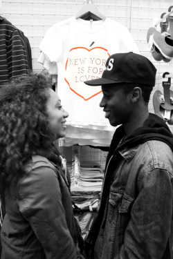 stadography:  NEW YORK IS FOR LOVERS .. Taja <3 Joo
