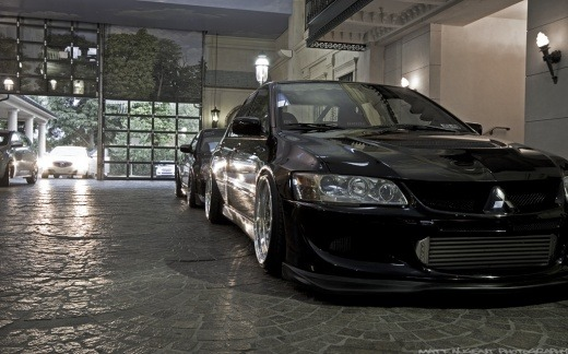 fuckyeahcargasm:  Looks? Check Featuring: Mitsubishi Lancer Evo IX