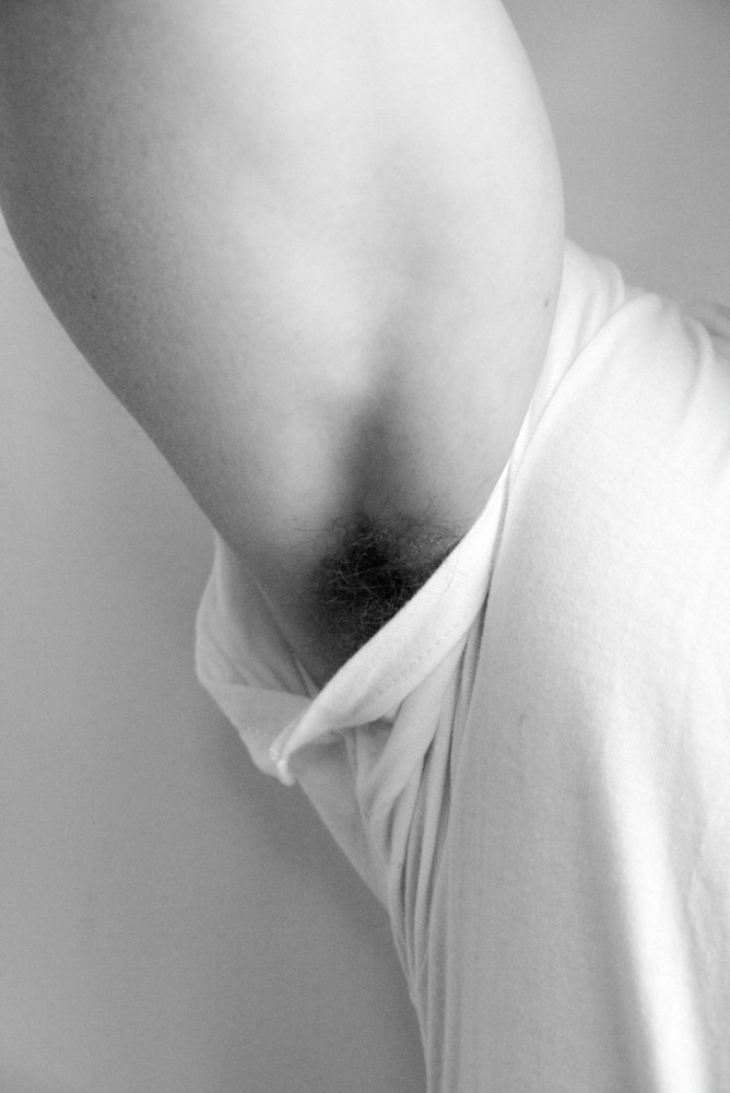 Dave Franco's armpit by Terry Richardson