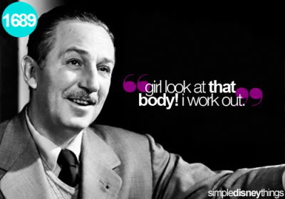 thedisneyhipster:  simpledisneythings:  Walt always had a deep admiration for LMFAO. The song 'Sexy and I Know It' constantly played during the working hours for the animators.  …Happy April Fools day!   LOL I love this for some reason.