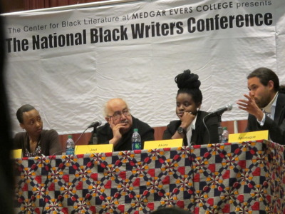 National Black Writers Conference 2012 Social Media panel.