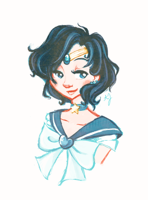 snarkies asked you:Saaaaailor Moon!  I loved Sailor Moon as a kid and use to rush home to catch it after school. Sailor Mercury was my favorite! c: Although in recent years I've felt that when I finally reread/rewatch it Sailor Mars would be my new favorite…