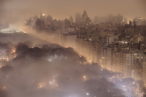 New York at Night by JC Richardson on Flickr.Central Park! :)