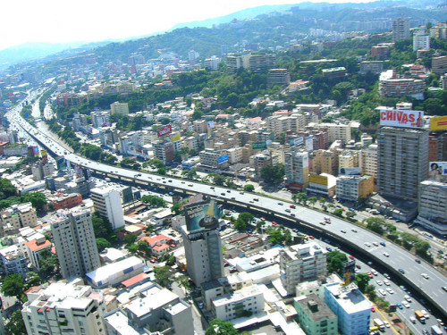 Autopista desde el aire by modulor on Flickr.#Caracas #Street
