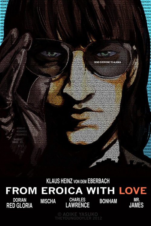 FROM EROICA WITH LOVE - Tinker Tailor Soldier Spy spoof Parody of this poster: