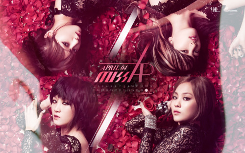 n3ssachan:  aqe official miss A april wallpaper: 1024x768 | 1280x1024 | 1920x1200
