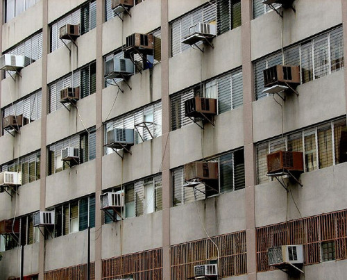 air conditioned by nica* on Flickr.#Caracas #photography