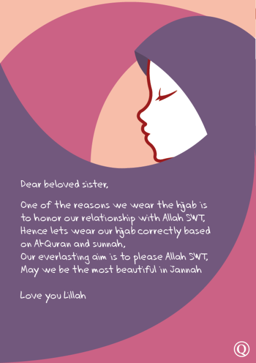 islamic-quotes:  Our aim is to please Allah with hijab