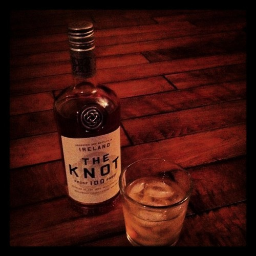 Knot to bad #whiskey #night cap (Taken with Instagram at Pat doodys house of ill repute)