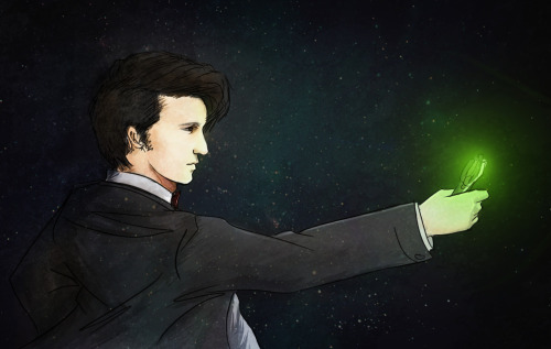 The Doctor Lies, Photoshop Ugh. This style. Never again.