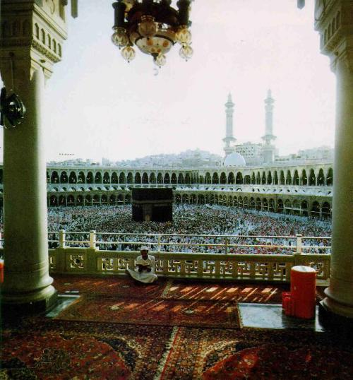 #subhanallah an awesome picture of the haram, Makkah.