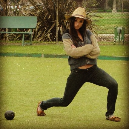 lawn bowling is my specialty come at me