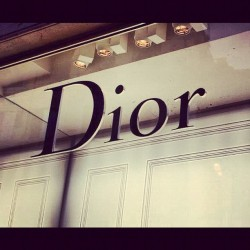 Dior #italy  #fashion #Dior (Taken with instagram)