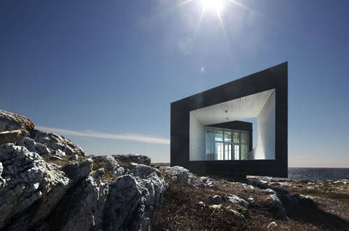 minimalarchitecture:  Fogo Island Studios by Saunders Architecture    i would totally live here. it'll be my evil lair.