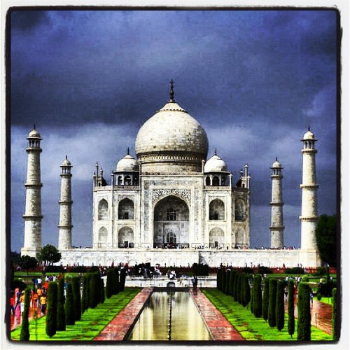 power of love (Taken with Instagram at Taj Mahal, Agra)