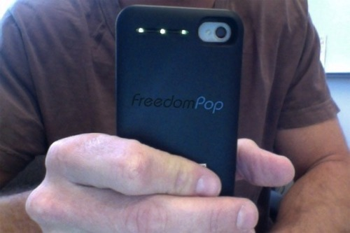 "8bitfuture:  Free 4G internet service to begin in the US. 'FreedomPop"" will give users around a gigabyte of free 4G internet access per month when it launches in the US later this year.  While it's not quite the first to do so, it is offering five times more data than NetZero's free offering, and will offer an interesting way to connect your iPhone:  FreedomPop will offer three mobile broadband devices at first. There will be a USB dongle for laptops, a Wi-Fi hotspot device that can connect up to 20 devices to the Web, and an iPhone case that will allow the smart phone to circumvent the user's wireless carrier and can also charge the phone and act as a hotspot for up to eight additional devices. Users won't pay for the devices, but they will have to fork over a refundable deposit fee.  While it's not clear exactly how the company will generate revenue, it is likely to come partly from advertising (pop-ups interrupting your web access for example), and by charging users who want more data or extra services."