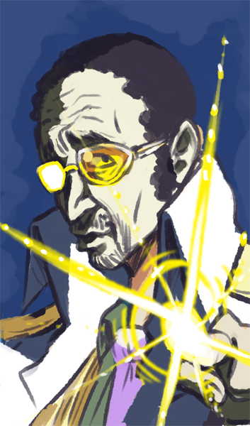 Quick sketch of my man KIZARU!!! another one of me One Piece favs. -I really enjoy his dumbfound personality no matter the situation.