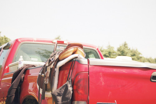 haleybreen:  horse show days… summer '09