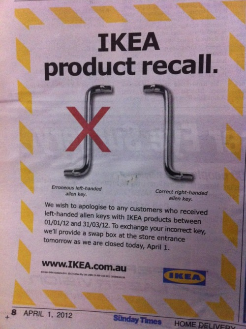 Well played Ikea