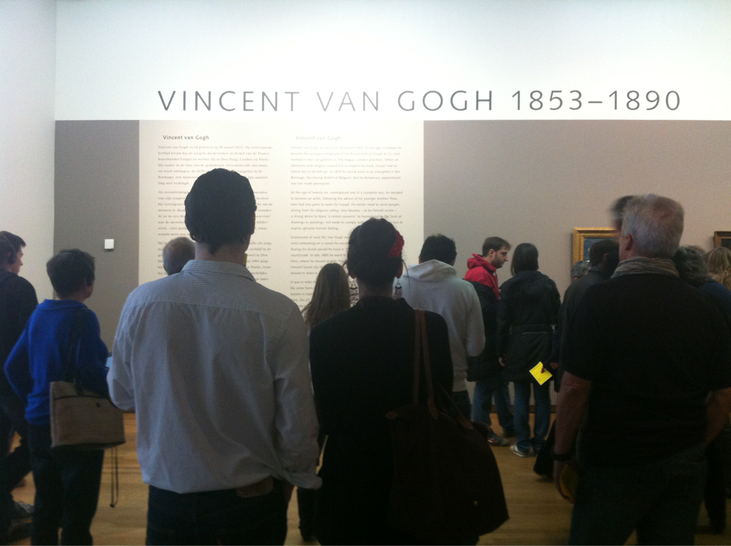 "Van Gogh Mayhem - landed in Amsterdam - I thought Vienna was the Mecca of museums! As I stand reading the cliff notes of his life - ""a strong desire to leave 'a certain souvenir' to humankind…"" - this resonates with me thinking what quality of work do I wish to pursue at the turn of my life… …kitsch,trinket, jewelry…"