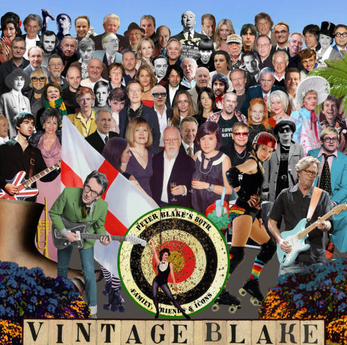 New faces on Sgt Pepper album cover for artist Peter Blake's 80th birthday British pop artist Sir Peter Blake has taken inspiration from his most famous artwork – the Beatles' Sgt Pepper's Lonely Hearts Club album cover – to celebrate the British cultural figures he most admires as he marks his 80th birthday. Twiggy, Amy Winehouse, Grayson Perry, JK Rowling and even Monty Python's emblematic foot all feature in a reworked version of the 1967 cover created for his birthday celebrations.