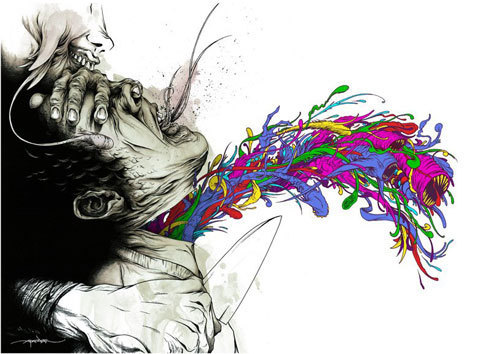sefren:  by Alex Pardee    Alex pardee always been awesome!