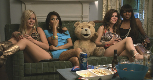 Mark Wahlberg stars in red-band Ted trailer: watch now Ted has debuted a first red-band trailer, in which Mark Wahlberg buddies up with a foul-mouthed teddy bear, voiced by Family Guy genius Seth MacFarlane…