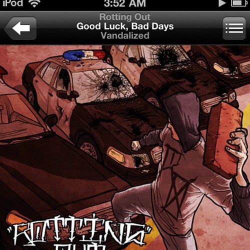 """Good Luck,Bad Days"" (Taken with Instagram at Under mah Blankets)"