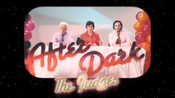 After Dark , The Count & Sinden featuring Mystery Jets Video frame - Typography in music