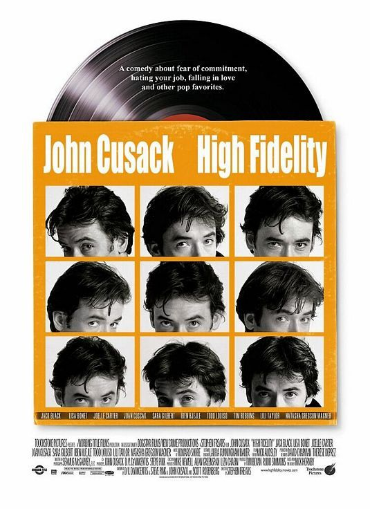 sonofafilmgeek's Top 20 Films of all Time High Fidelity (2000) Dir. Stephen Frears  What came first, the music or the misery? People worry about kids playing with guns, or watching violent videos, that some sort of culture of violence will take them over. Nobody worries about kids listening to thousands, literally thousands of songs about heartbreak, rejection, pain, misery and loss. Did I listen to pop music because I was miserable? Or was I miserable because I listened to pop music?  The first time I watched this film, I expected it to be nothing more than your standard rom-com fair. How wrong was I? This immediately shot into my favourite films, mainly thanks to the performance from John Cusack. Despite being a bit of a dick in the film, Cusack himself is so likeable that you want to see him succeed with his job and relationships. I love how Cusack's character is constantly breaking the fourth wall to talk to the audience and give his random Top 5 lists. I recently read the book for this and that too has become one of my favourite books.