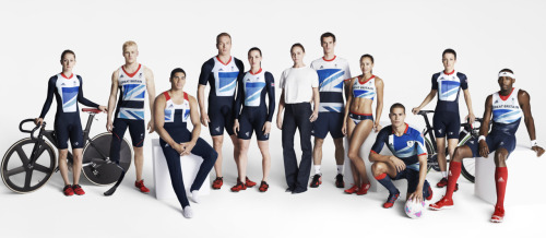 TEAM GB - Kit launch for the London Olympics 2012 Designed by Stella McCartney for Adidas Shot by Jacob Sutton