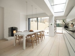 Dinesen floors in London, Macdonald Wright Architects