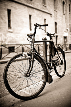 Vintage Bicycle Paris Street by Sonova Photography on Flickr.
