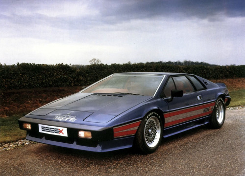 motoriginal:  '80 Lotus Esprit Essex Turbo - King of England