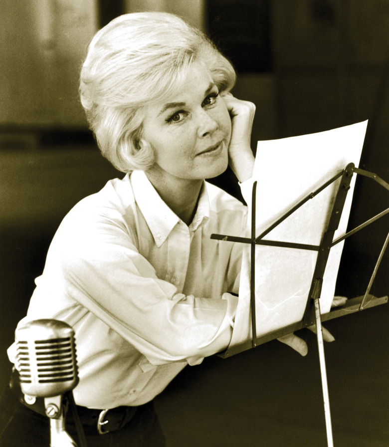 "nprfreshair:  Doris Day on 'Que Sera Sera': ""The first time somebody told me it was going to be in that movie, I thought, 'Why?' I didn't think there was a place to put that song. … I thought, 'I'm not crazy about that. Where are they going to put it? For what?' … I didn't think it was a good song."" [complete interview here]  I love her so much! And her laugh sounds the same."