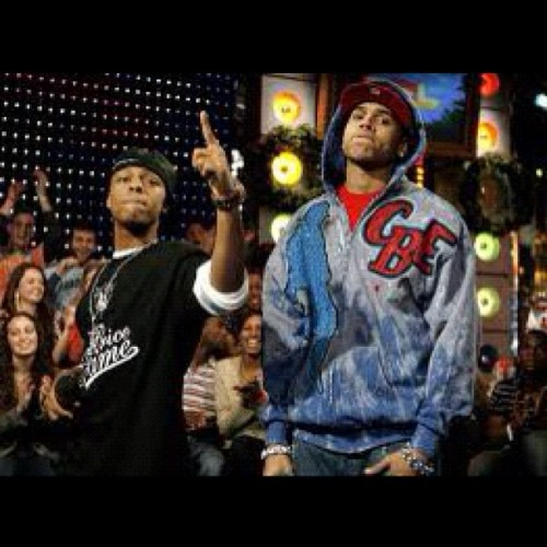 Bow Wizzle And Chris Breezy!  (Taken with instagram)