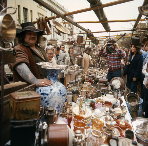 Portobello Road  Description: Portobello Road market Date: c.1970