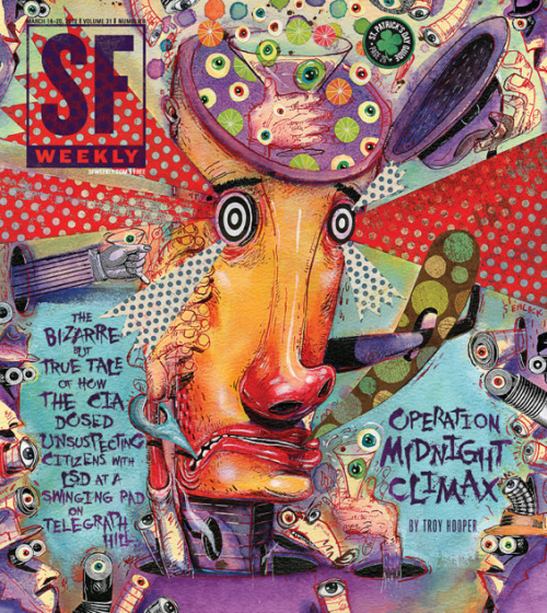 laughingsquid:  Operation Midnight Climax: How the CIA Dosed San Francisco Citizens with LSD
