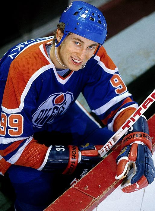 On this day in 1980, Edmonton rookie Wayne Gretzky became the first teenager to score 50 goals in a season, when the 19-year-old first year NHL player scored for the Oilers in a 1-1 tie against the Minnesota North Stars, at Northlands Coliseum.