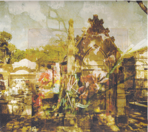 New Work, March 2012 Not Yet Titled Digital Prints of New Orleans's Cemeteries on My Grandfather's Sermons.